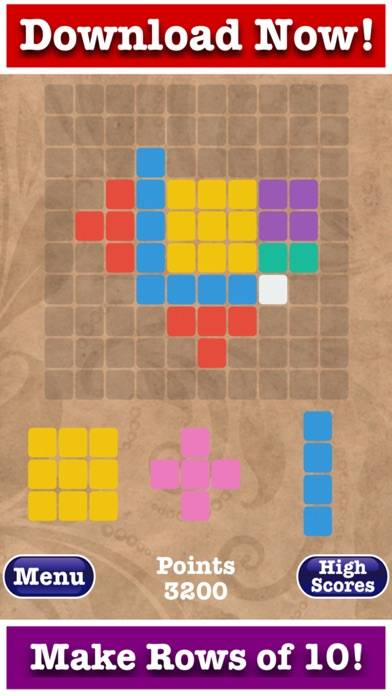 Totally Free 1010 Puzzle! Walkthrough (iOS)