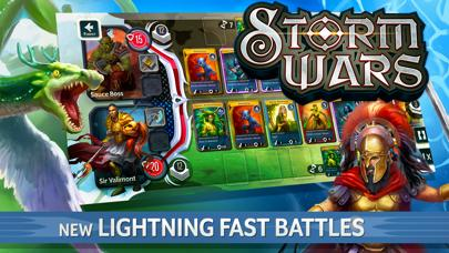 Storm Wars CCG Walkthrough (iOS)