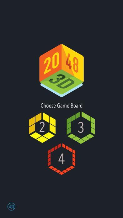 2048 3D - Brain Training Game