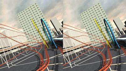 Rollercoaster VR Cardboard Walkthrough (iOS)