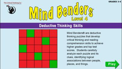 Mind Benders Level 4 Walkthrough (iOS)