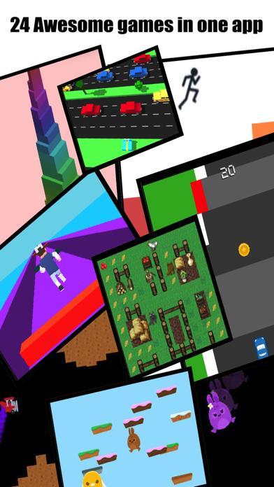 Watch Mini Games 4-in-1