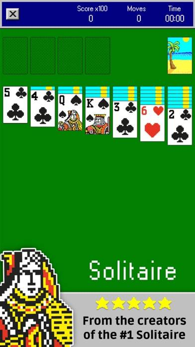 Solitaire Retro ∙ Walkthrough (iOS)