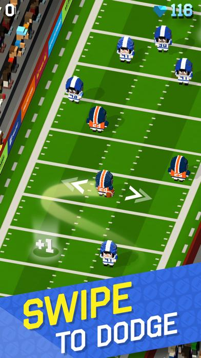 Blocky Football - Endless Arcade Runner