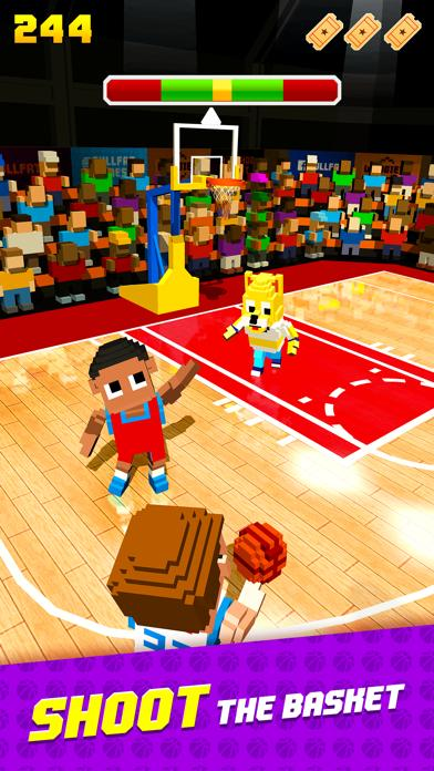 Blocky Basketball Walkthrough (iOS)