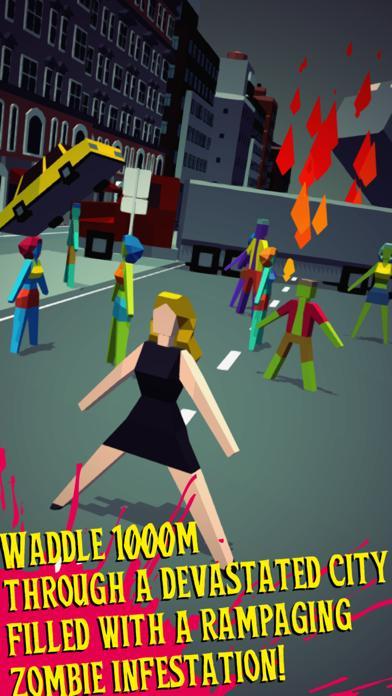 1000m Zombie Escape! Walkthrough (iOS)