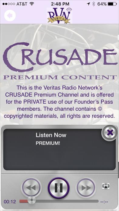The Veritas Radio Network App