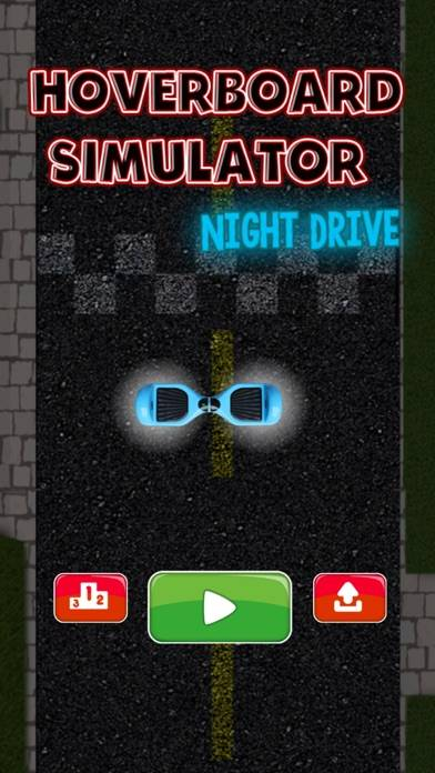 Hoverboard Simulator - Night Drive