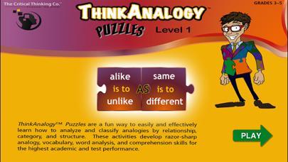 ThinkAnalogy™ Puzzles Level 1