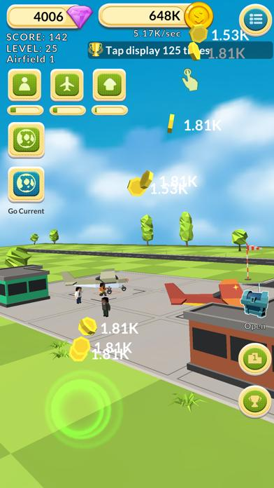Airfield Tycoon Clicker Walkthrough (iOS)