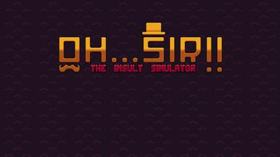 OhSir! The Insult Simulator