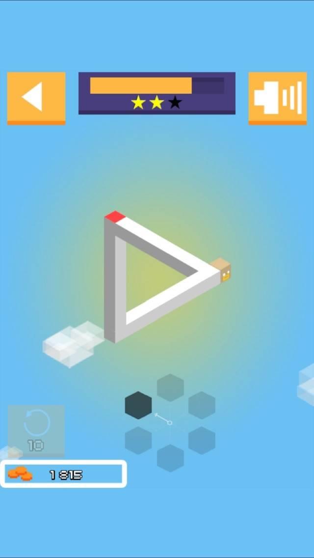 3D Illusion Maze Path Puzzle