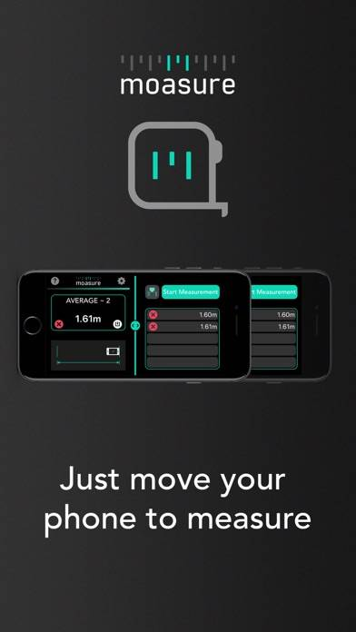 Moasure - the smart measuring app!