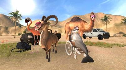 Goat Simulator PAYDAY Walkthrough (iOS)