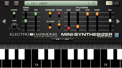 Mini Synthesizer for iPhone