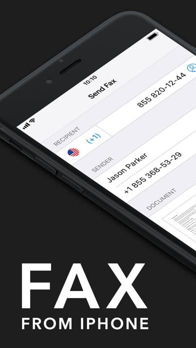 iFax - Send Fax from iPhone