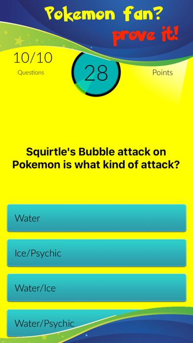 Trivia Quiz For Pokemon Games Fans Walkthrough (iOS)