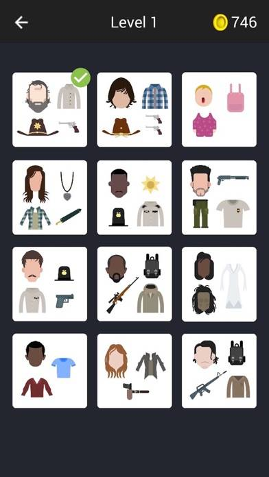 Guess The Characters for Walking Dead