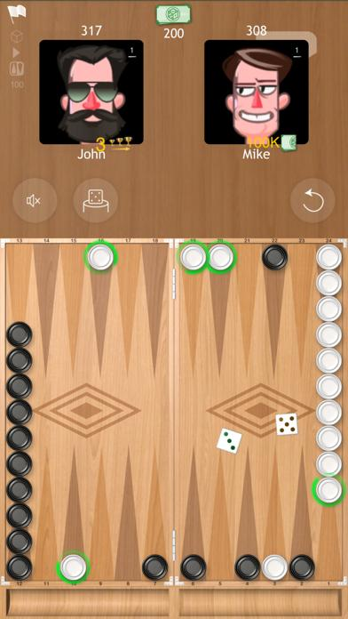 Backgammon Narde Online board game