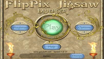 FlipPix Jigsaw - Lavender
