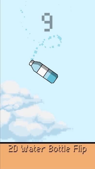 2D Water Bottle Flip