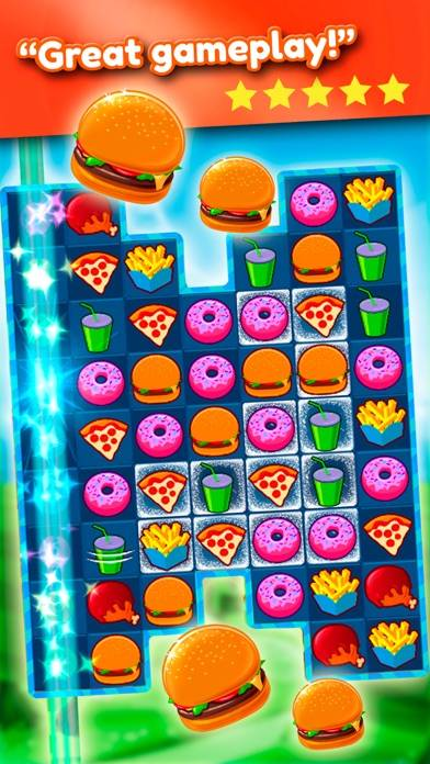 Super Burger Match 3 Saga