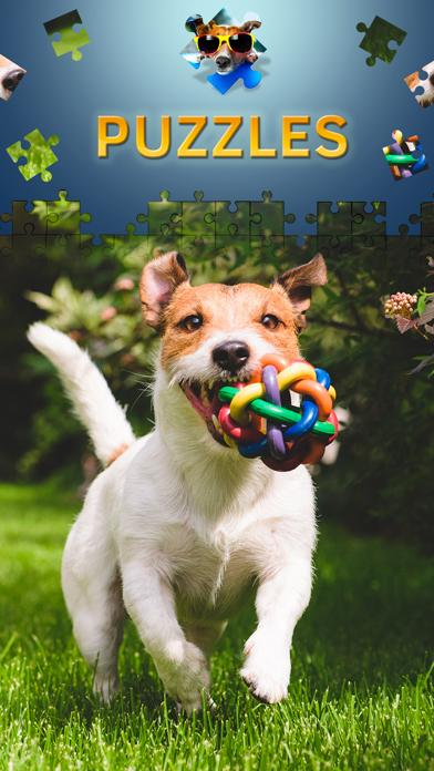 Dogs Jigsaw Puzzle Game Premium Walkthrough (iOS)