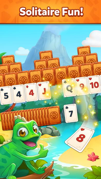 Solitaire Dash TriPeaks Islands Walkthrough (iOS)