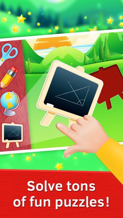 Baby Puzzles. School Tools