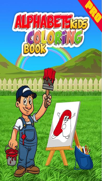 Alphabets Kids Coloring Book Pro