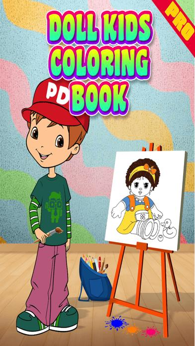 Doll Kids Coloring Book Pro Walkthrough (iOS)