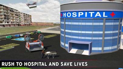 Drone Ambulance Simulator: Helicopter Rescue Pilot