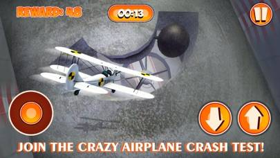 Plane Crashing Test Simulator 3D Walkthrough (iOS)