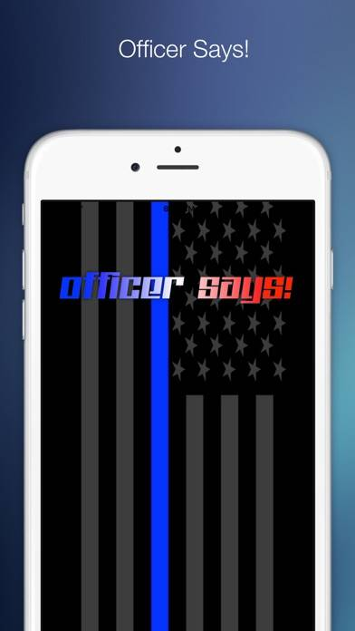 Officer Says! Walkthrough (iOS)