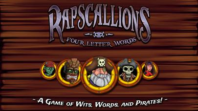 Rapscallions: Four Letter Words Walkthrough (iOS)