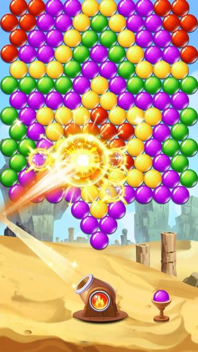 Bubble Shooter Burst Walkthrough (iOS)