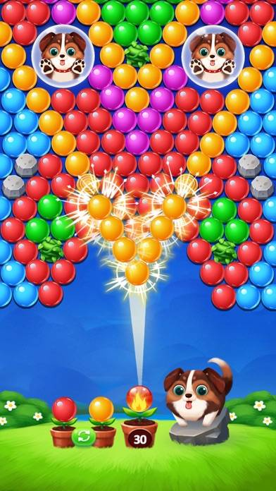 Bubble Shooter Legend! Walkthrough (iOS)