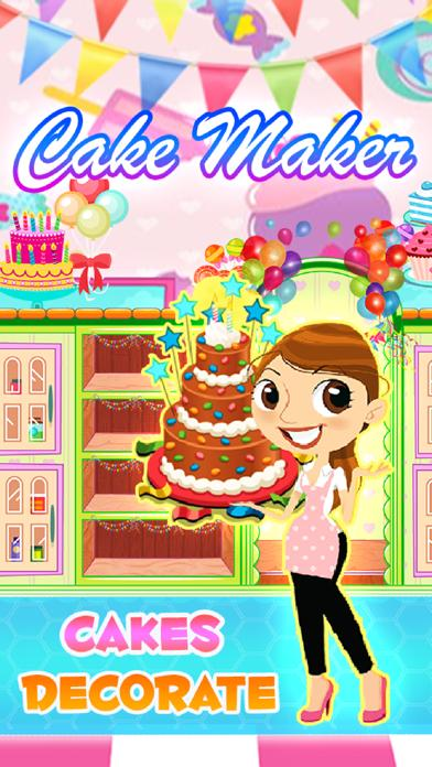 Cake Maker Cooking Decorate Walkthrough (iOS)