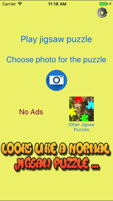 Secret Photo Jigsaw Puzzle Maker
