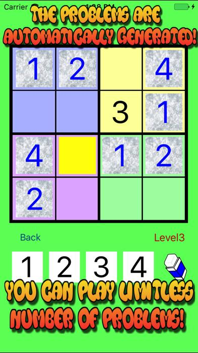 4x4 Easy SUDOKU Puzzle for Beginners