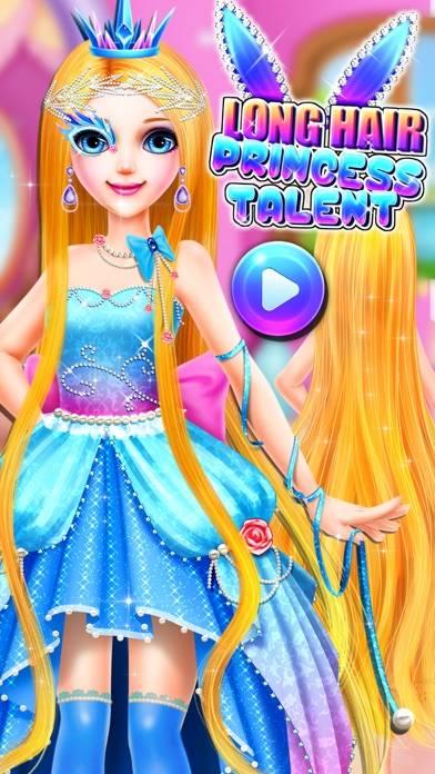 Long Hair Princess Talent Makeup