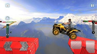 Quad Bike Impossible Stunts Walkthrough (iOS)
