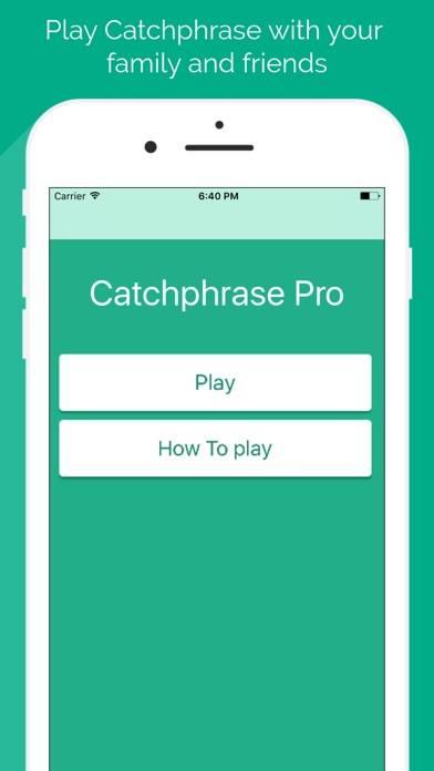 Catchphrase Pro