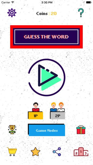 Guess The Word- Multiplayer