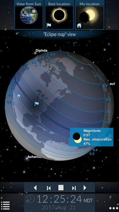 Solar Eclipse by Redshift