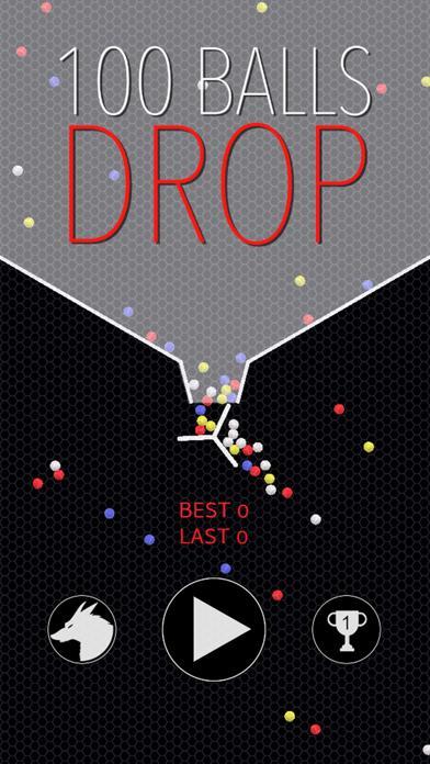 100 Balls Drop