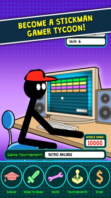 Stickman Gamer Tycoon