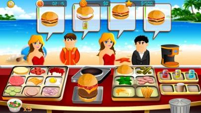 Burger Cooking Restaurant Walkthrough (iOS)