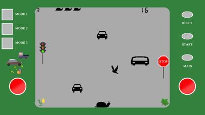 Snail in Traffic Retro (Full)