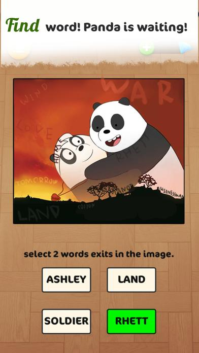 Word Panda Feed:Chef Mama Walkthrough (iOS)